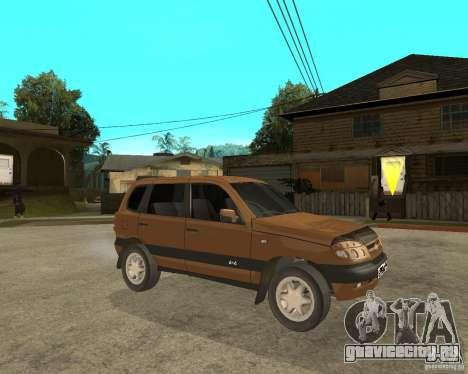 CHEVROLET NIVA Version 2.0 для GTA San Andreas вид справа