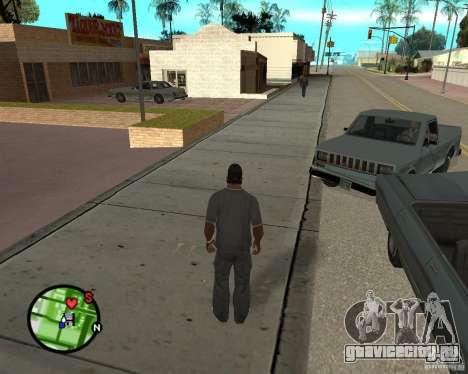 Police On Radar для GTA San Andreas