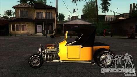 Ford T 1927 Hot Rod для GTA San Andreas вид слева