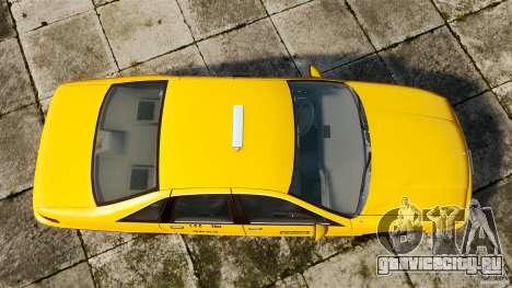 Chevrolet Caprice 1991 LCC Taxi для GTA 4 вид справа