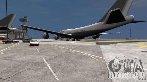 Lufthansa MOD для GTA 4 вид слева