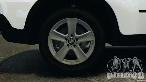 BMW X5 xDrive35d для GTA 4 вид сверху