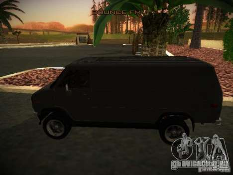 GMC Vandura для GTA San Andreas вид слева