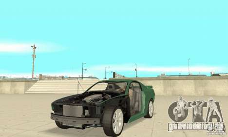 Saleen S281 v2 для GTA San Andreas вид сверху
