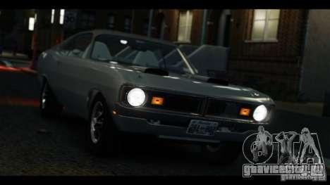 Dodge Demon 1971 для GTA 4 вид справа