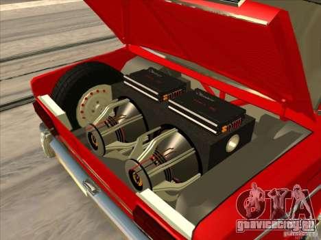ВАЗ 2103 Resto style для GTA San Andreas вид сзади