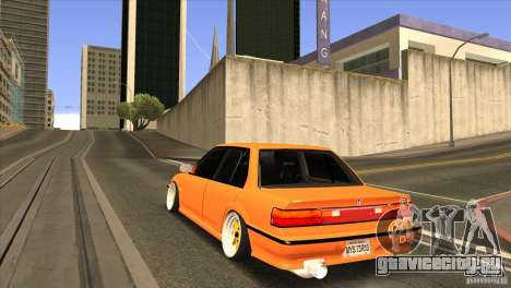 Honda Civic EF9 Sedan для GTA San Andreas вид сзади слева