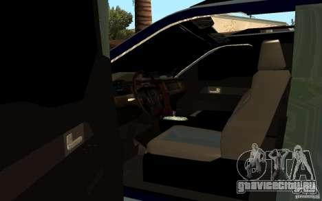 Ford Velociraptor для GTA San Andreas вид сзади слева