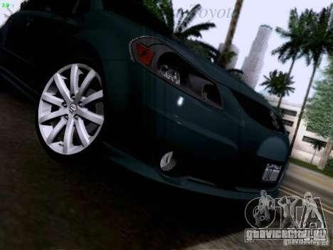 Suzuki SX4 Sportback 2011 для GTA San Andreas вид сверху
