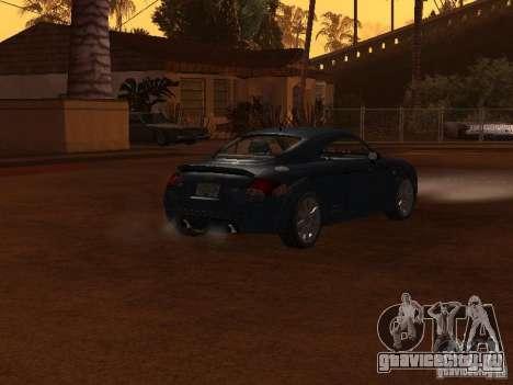 Audi TT 3.2 Quattro для GTA San Andreas вид справа