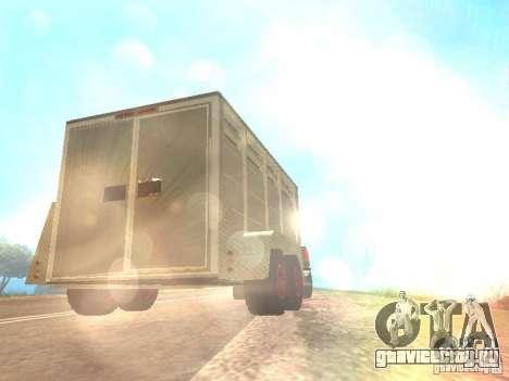 Трейлер к Chevrolet Silverado 2012 для GTA San Andreas вид сзади