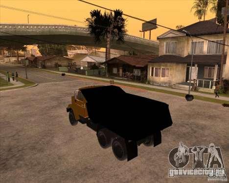 ЗиЛ ММЗ 4516 для GTA San Andreas вид слева