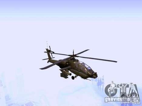 HD Hunter для GTA San Andreas вид сзади