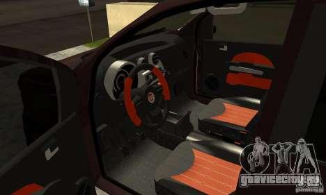 Fiat Novo Uno Sporting для GTA San Andreas вид сзади