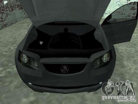 Holden Calais для GTA San Andreas вид справа
