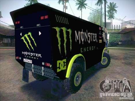 КамАЗ 4911 Мастер Monster Energy для GTA San Andreas вид справа