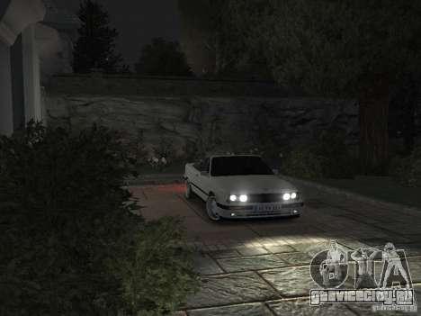BMW 3-er E30 для GTA 4 вид сбоку