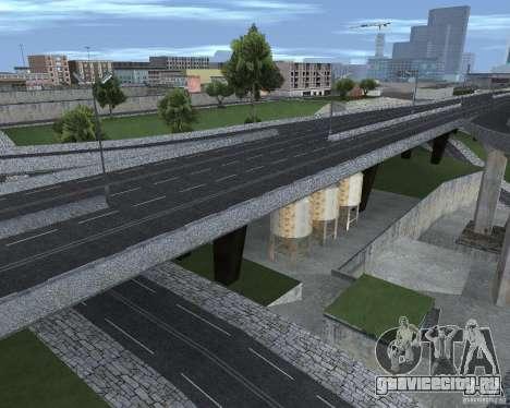 Новые дороги для GTA San Andreas пятый скриншот