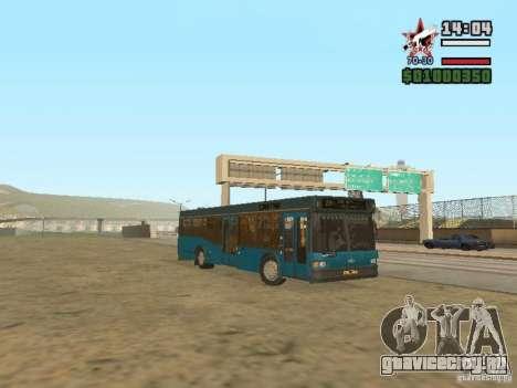 МАЗ-103С для GTA San Andreas вид слева