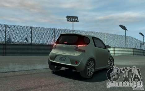 Aston Martin Cygnet 2011 для GTA 4 вид изнутри
