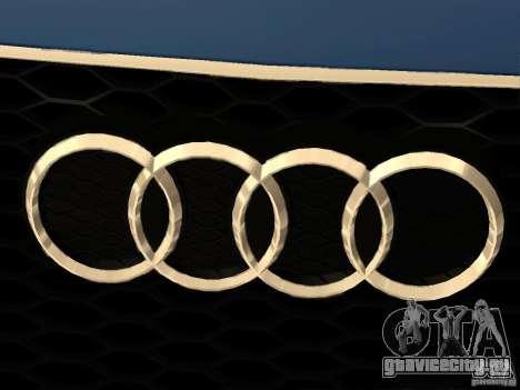 Audi TT RS для GTA San Andreas вид сверху
