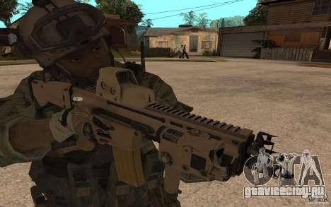 SCAR FN MK16 для GTA San Andreas
