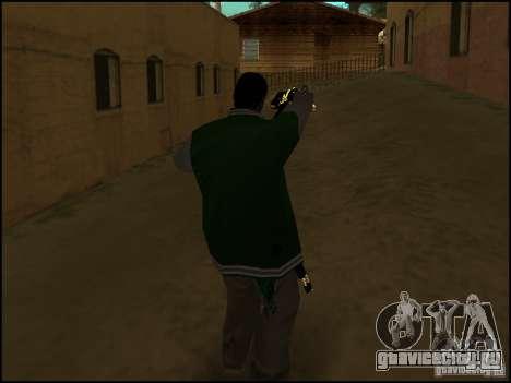 Оружие в одной руке для GTA San Andreas второй скриншот