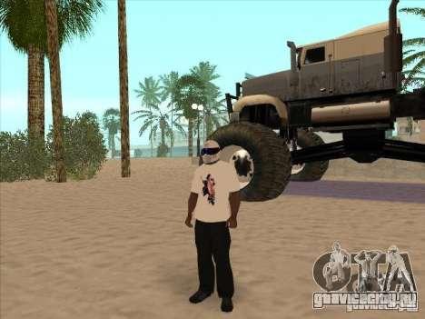 Футболка с изображением Майкла Джексона для GTA San Andreas четвёртый скриншот