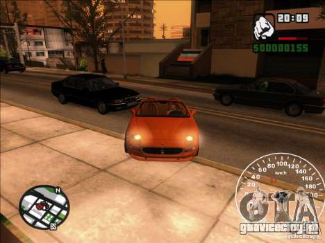 Spyder Cambriocorsa для GTA San Andreas вид сбоку