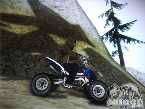 Bike Pure для GTA San Andreas вид сзади