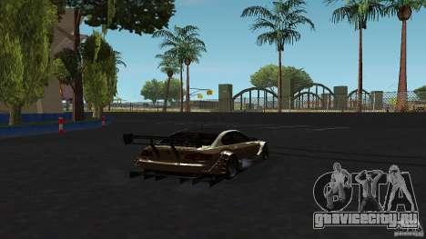 BMW E92 M3 для GTA San Andreas вид сзади слева