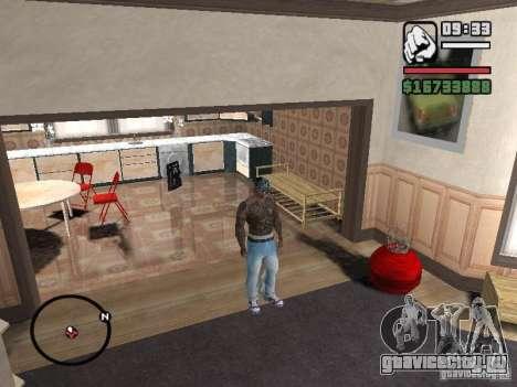 Ami James & Chris Nunez Tattoo для GTA San Andreas пятый скриншот