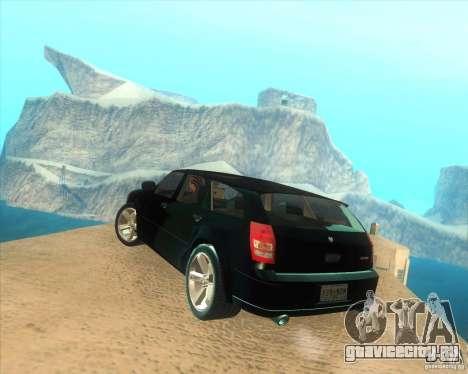 Dodge Magnum RT 2008 v.2.0 для GTA San Andreas вид слева
