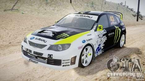 Subaru Impreza WRX STi 2009 Ken Block для GTA 4