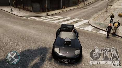 Blue Neon Banshee для GTA 4 вид справа
