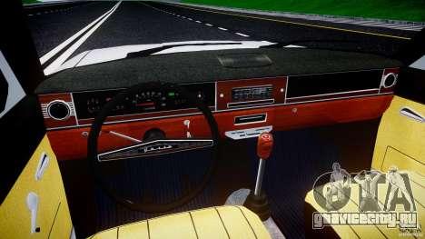ГАЗ 24-12 1986-1994 Stock Edition v2.2 для GTA 4 вид сверху