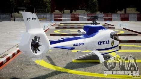 Eurocopter EC 130 LCPD для GTA 4 вид сбоку