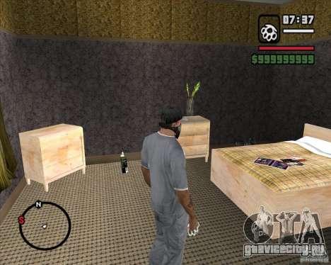 Замена всего дома CJея для GTA San Andreas пятый скриншот