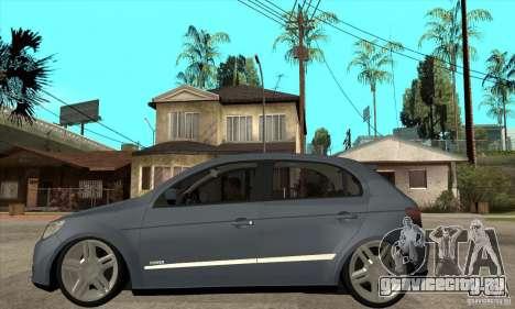 Volkswagen Gol G5 для GTA San Andreas вид слева