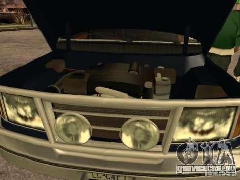 HD Columb для GTA San Andreas вид справа