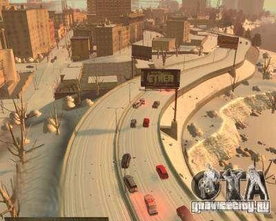 Гололёд для GTA 4 четвёртый скриншот