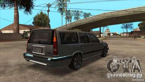 Volvo 850 R для GTA San Andreas вид справа