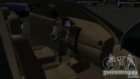 Daewoo Matiz для GTA San Andreas вид сзади