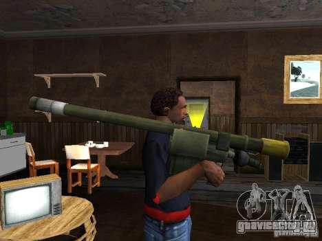 ПЗРК Игла 2 для GTA San Andreas второй скриншот