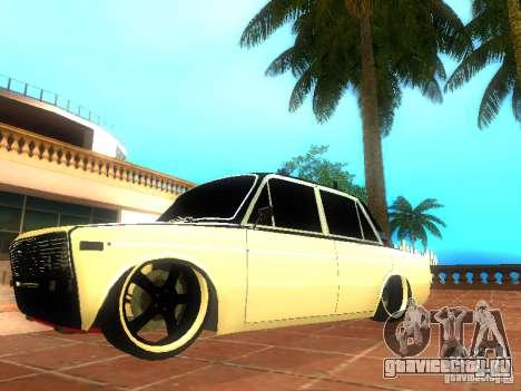 Ваз 2106 dag style для GTA San Andreas вид слева