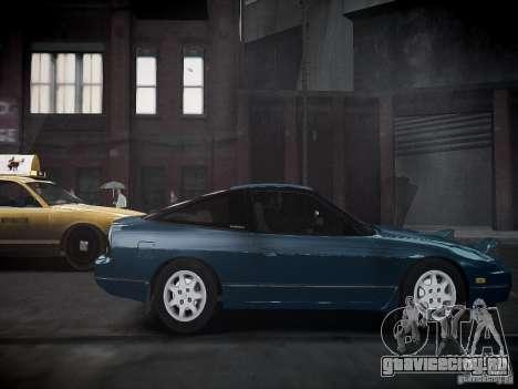 Nissan 240SX для GTA 4 вид сзади слева