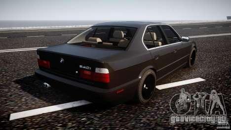 BMW 5 Series E34 540i 1994 v3.0 для GTA 4