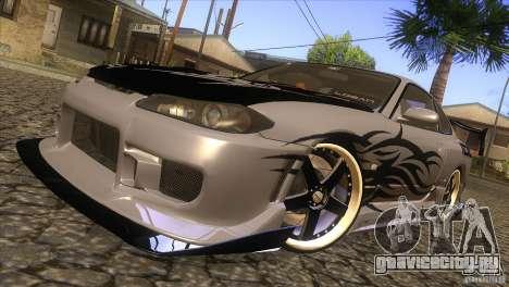 Nissan Silvia S15 Logan для GTA San Andreas вид сбоку