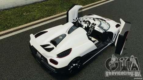 Koenigsegg Agera R v2.0 [EPM] для GTA 4 вид снизу