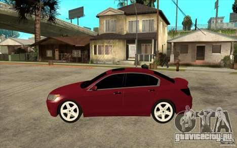 Honda Accord 2008 v2 для GTA San Andreas вид слева